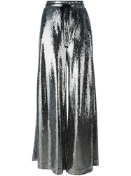Mcq By Alexander Mcqueen Paillettes Palazzo Pants Metallic