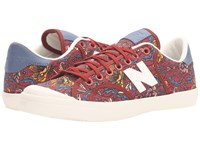 New Balance Wlprov1 Clay Floral Print Women's Classic Shoes Brown
