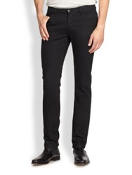 The Kooples Straight Leg Jeans Black