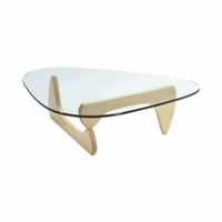 Noguchi Coffee Table Maple Base