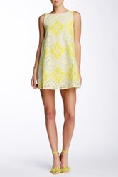 Weston Wear Juniper Shift Dress Yellow