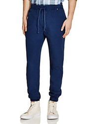 Lacoste Textured Poplin Slim Fit Jogger Pants Astre Dyed