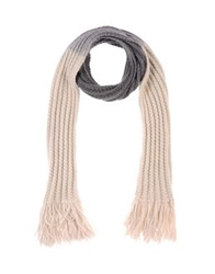 Master And Muse X The North Circular Oblong Scarves Ivory