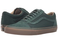 Vans Old Skool Reissue Dx Coated Green Gables Medium Gum Men's Skate Shoes