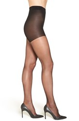 Nordstrom Plus Size Women's Back Seam Pantyhose Black