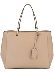 Dkny Shopper Tote Nude And Neutrals