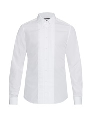 Gucci Pleated Cotton Dinner Shirt