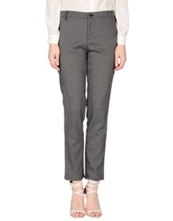 Phonz Says Black Trousers Casual Trousers Women Grey