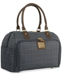 Weatherproof Beacon 16' Satchel Only At Macy's Navy Plaid