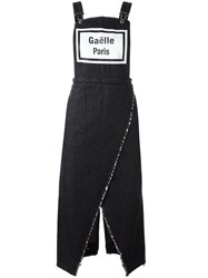 Gaelle Bonheur Denim Dungaree Dress Blue