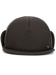 Maison Michel X Mackintosh Cap Black