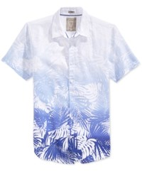 Guess Men's Short Sleeve Graphic Print Shirt True White Multi