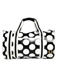 Fred Perry Barrel Bag In Polka Dot Multi