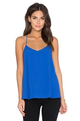 Pink Stitch Great Escape Cami Blue