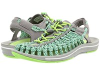 Keen Uneek Flat Jasmine Green Camo Women's Shoes Gray