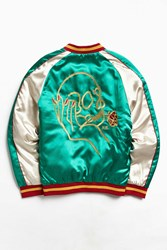 Urban Outfitters Uo X Never Made Souvenir Jacket Green