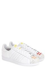 Adidas 'Superstar Pharrell Supershell' Sneaker Men White White Violet