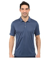 Adidas Climachill Solid Club Polo Mineral Blue Men's Short Sleeve Pullover