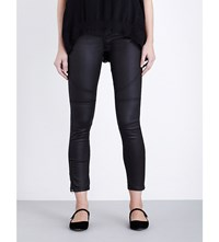 French Connection The Rebound Skinny Mid Rise Jeans Black