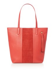 Dickins And Jones Harlow Tote Handbag Red