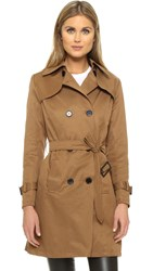 Sincerely Jules Camille Trench Coat Almond