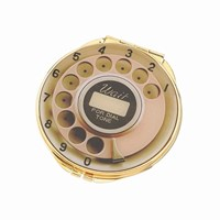 Kate Spade Telephone Dial Compact Mirror