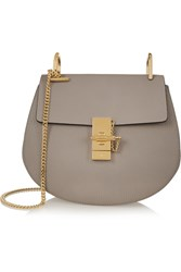 Chloe Drew Small Textured Leather Shoulder Bag