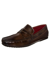Melvin And Hamilton Driver Slipons Crust Dk Brown Dark Brown