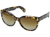 Oliver Peoples Abrie Vdtb Brown Gradient Polarized Fashion Sunglasses Animal Print