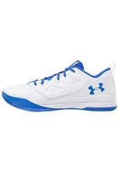 Under Armour Jet Basketball Shoes White Ultra Blue