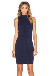Parker Kayleigh Knit Dress Navy