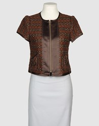 Nanette Lepore Suits And Jackets Blazers Women Dark Brown