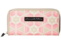 Petunia Pickle Bottom Glazed Wanderlust Wallet Blooming Brixham Clutch Handbags Beige