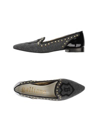 Galliano Ballet Flats Grey