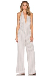 Line And Dot St. Marguerite Jumpsuit Ivory