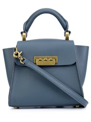 Zac Posen 'Eartha Mini' Tote Blue