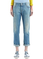 Stella Mccartney Tomboy Washed Jeans Blue