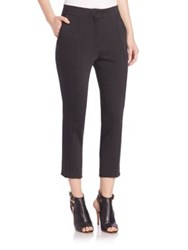 Iro Lary Cropped Trousers Black