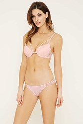 Forever 21 Scalloped Floral Lace Thong