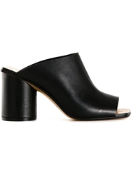 Maison Margiela Open Toe Mules Black