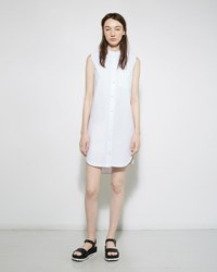Alexander Wang Band Collar Shirt Dress