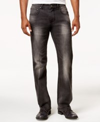 Inc International Concepts Men's Gray Wash Stretch Denim Jeans Only At Macy's Grey Wash