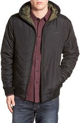 Men's Ezekiel 'Polar Bear' Quilted Hooded Jacket