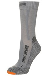 X Socks Trekking Silver Sports Grey