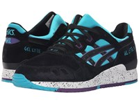 Asics Tiger Gel Lyte Iii Peacock Blue Black Nubuck Classic Shoes