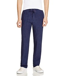 Todd Snyder Brighton Drawstring Pants Navy