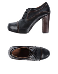 Zamagni Lace Up Shoes Dark Brown
