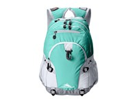 High Sierra Loop Backpack Aquamarine White Ash Backpack Bags Blue