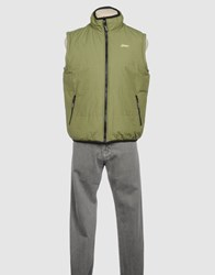 Asics Coats And Jackets Jackets Men Military Green