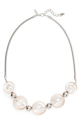Topshop Women's Ball And Circle Statement Necklace